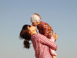 Maman solo et son enfant