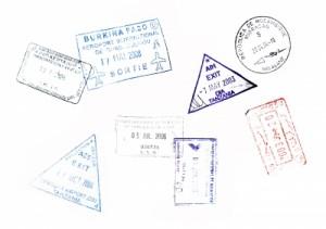 Un passeport de grand voyageur